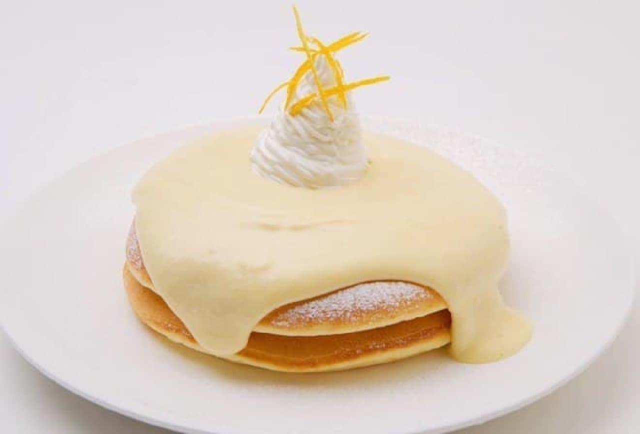 モケス ハワイ「リリコイパンケーキ」