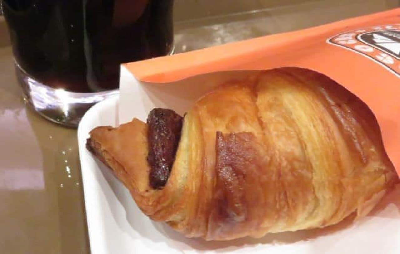 サンマルクカフェの「チョコクロor季節限定チョコクロモーニング」