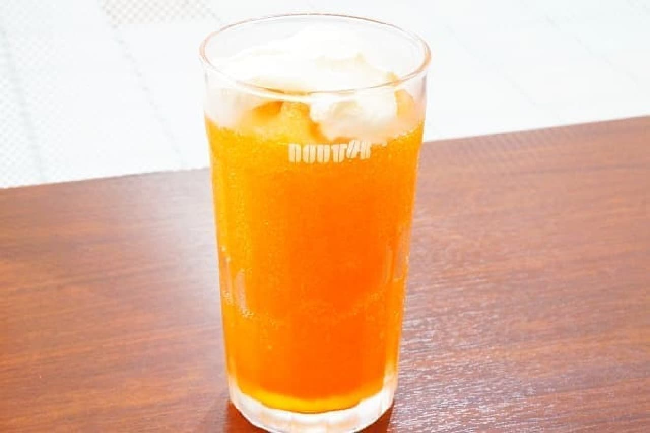ドトールコーヒー「北海道産メロンフローズン」
