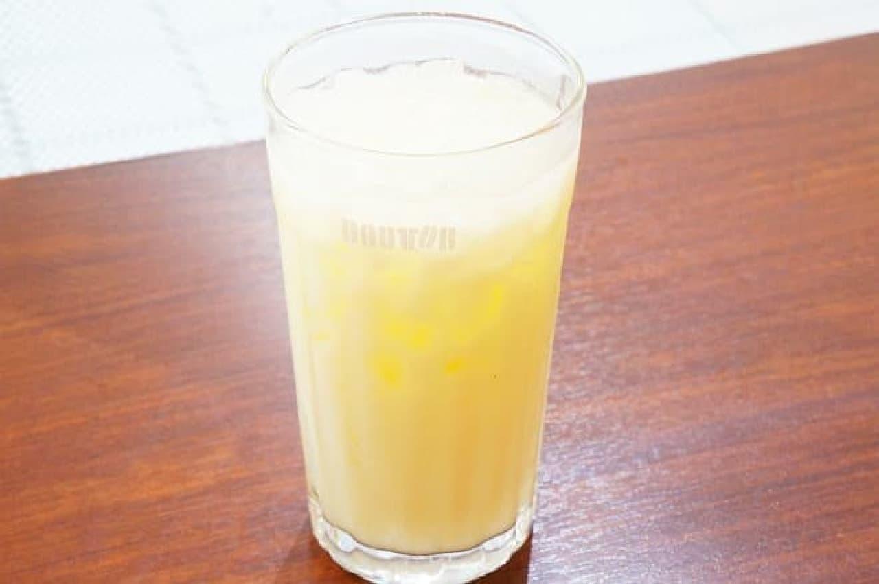ドトールコーヒー「沖縄県産パインヨーグルト」
