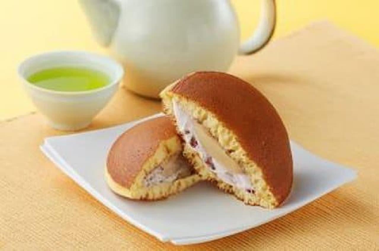 モンテール「ふんわりどら焼・北海道塩バター」