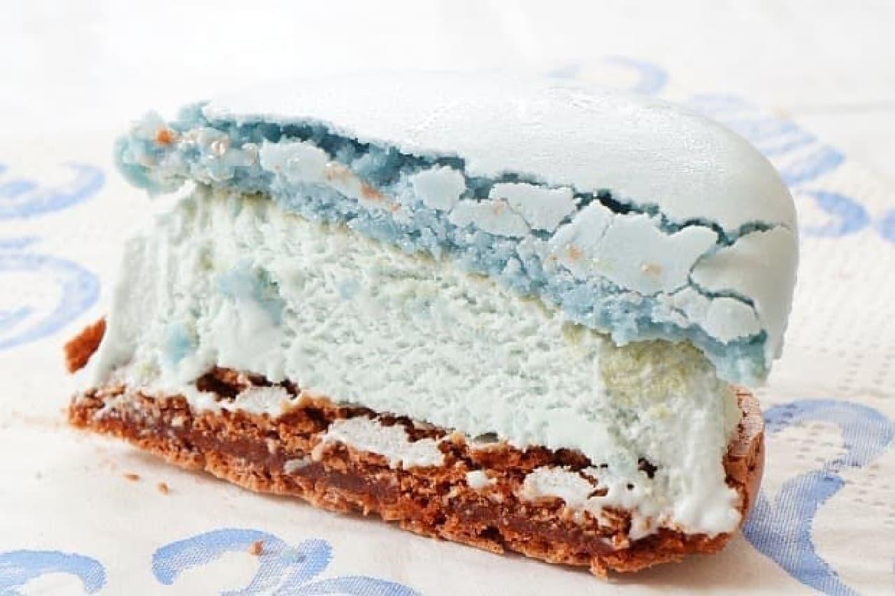セブンプレミアム ショコラミントマカロン アイス