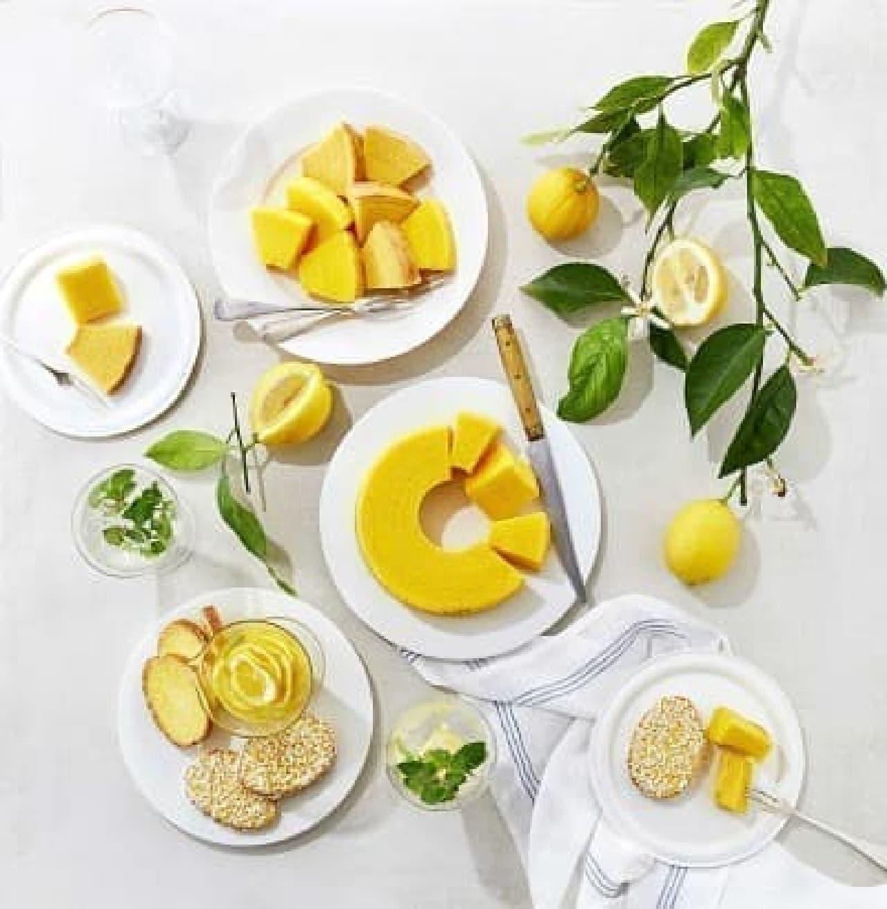 治一郎「レモンのサマースイーツ」