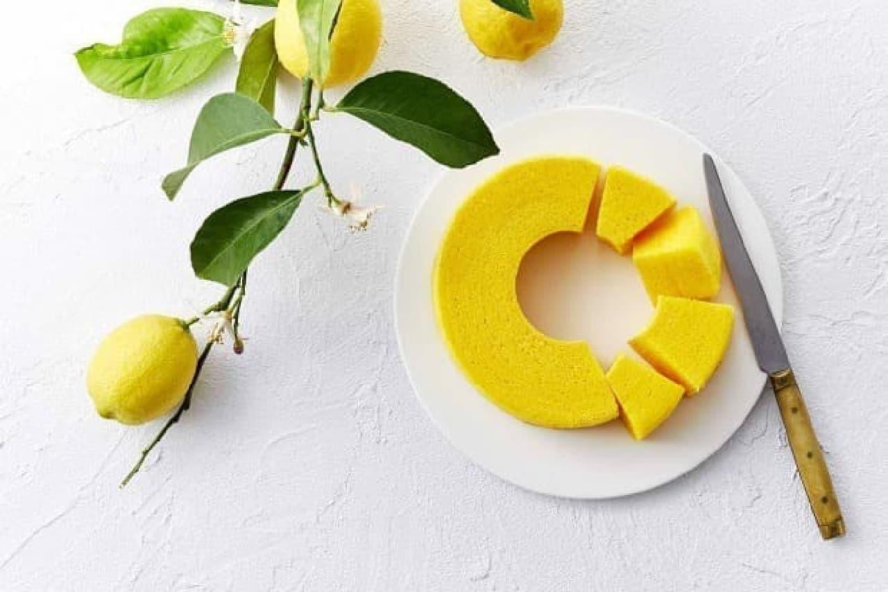 治一郎「レモンのバウムクーヘン」