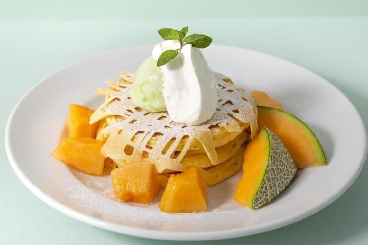 J.S.パンケーキカフェの「メロンパンケーキ」