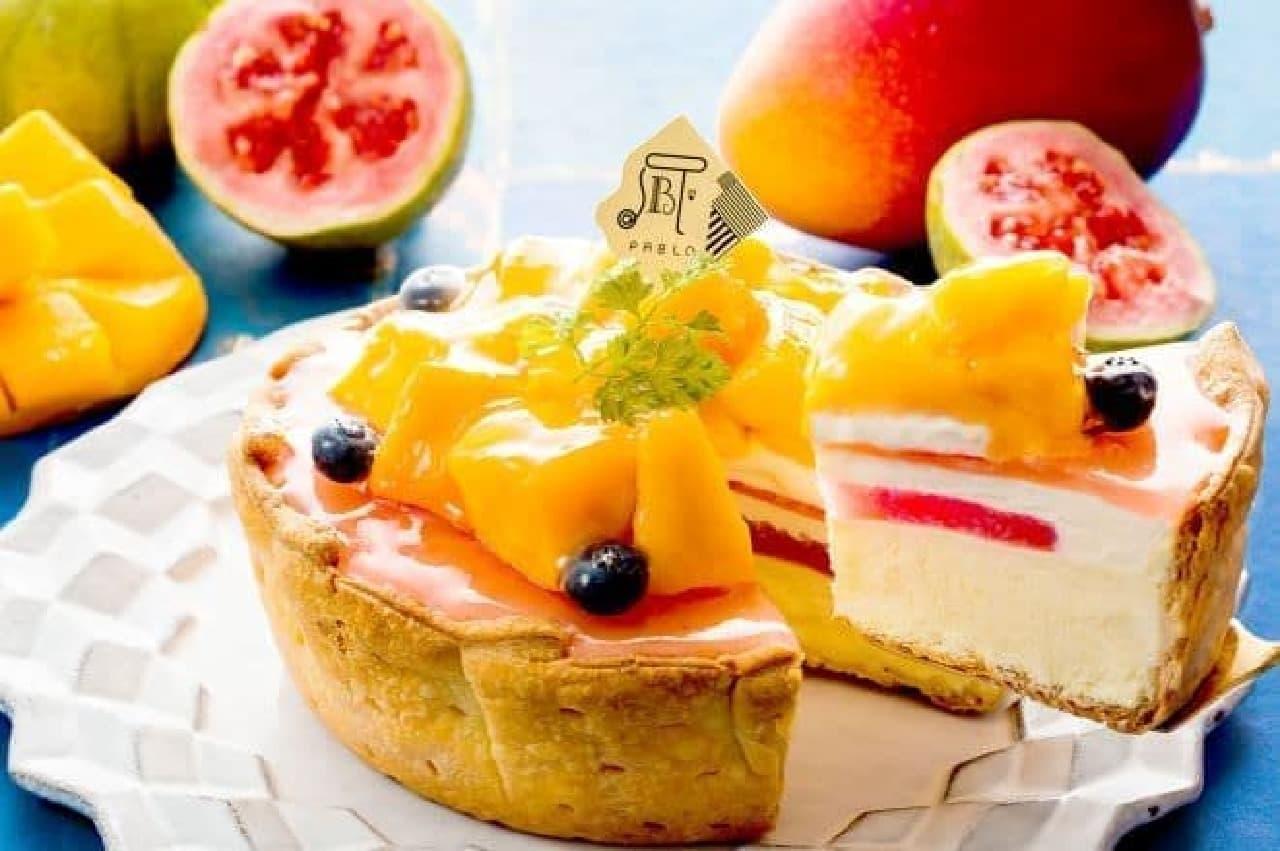パブロ「パブロのチーズタルト‐マンゴーとグアバのトロピカルサマー‐」