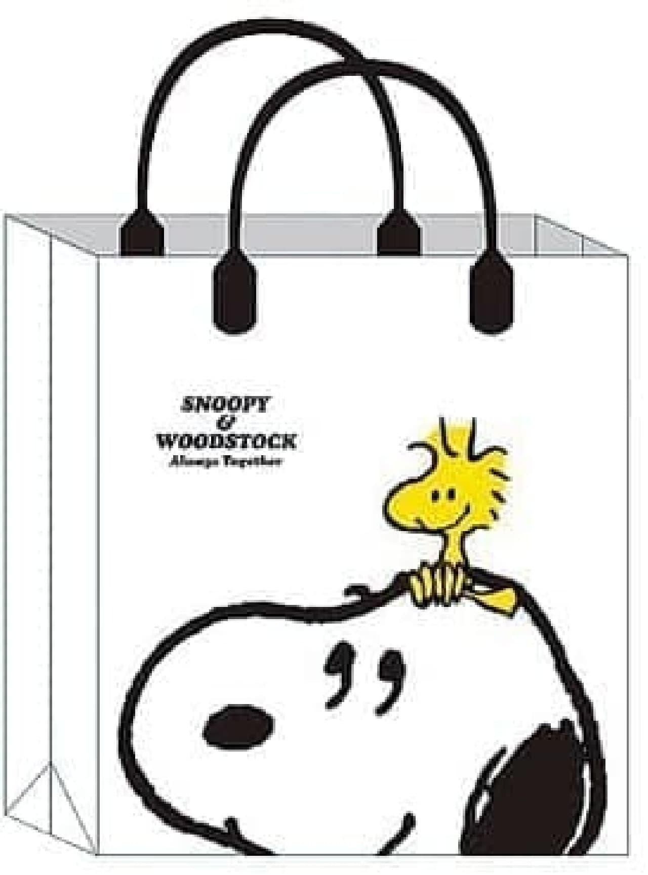 ローソン限定「スヌーピー ファッションバッグ」