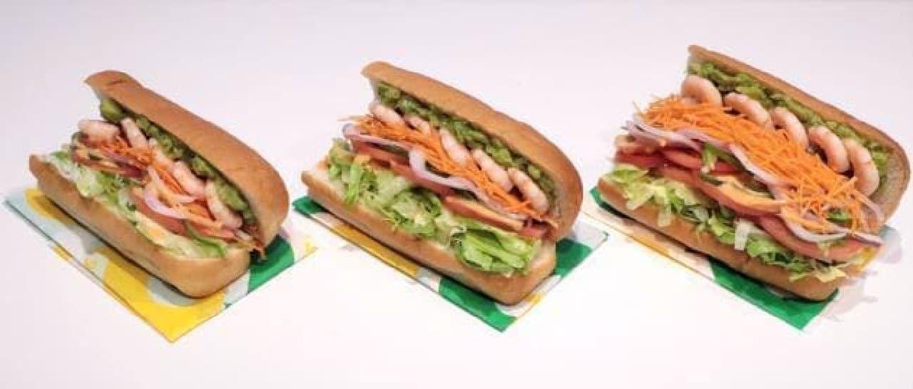 サブウェイ「野菜全力DAY(デー)」
