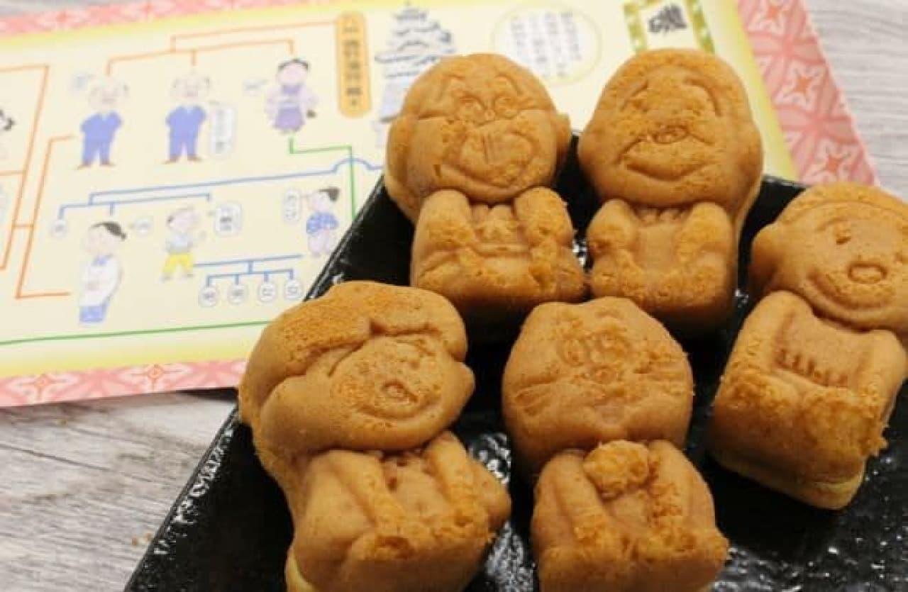 サザエさんのお店「サザエさん磯野家ファミリーケーキ(メープル味)」