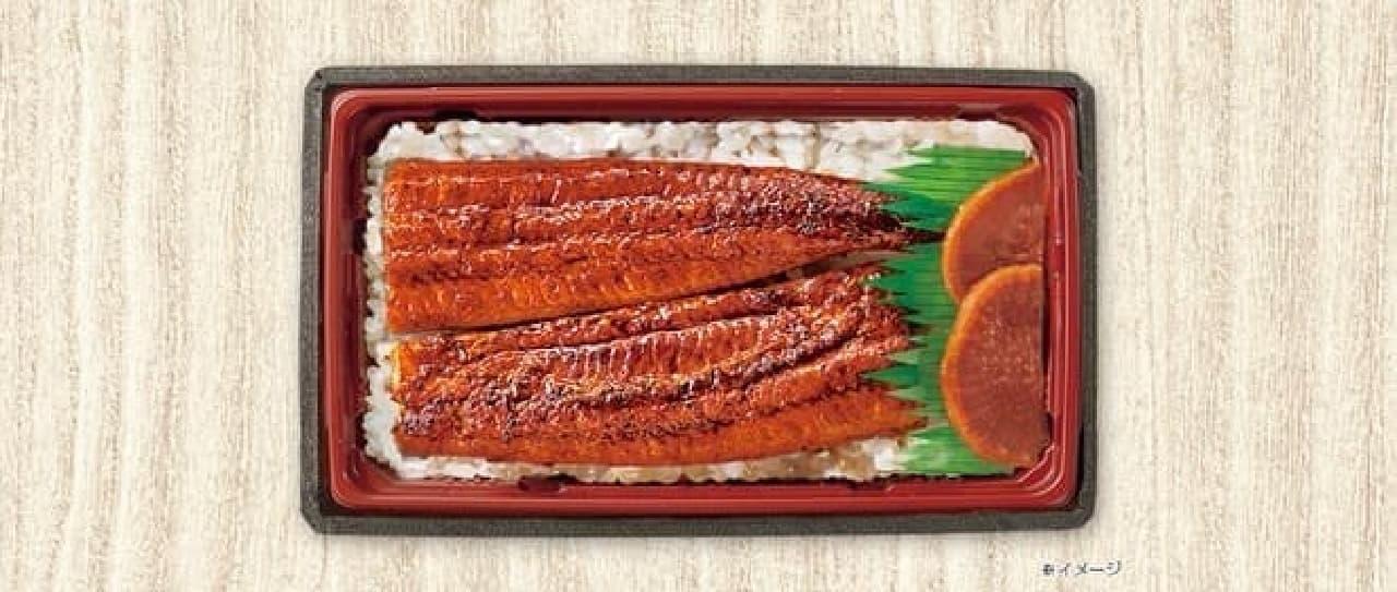 セブン-イレブン「中国産鰻蒲焼使用うなぎ蒲焼重」