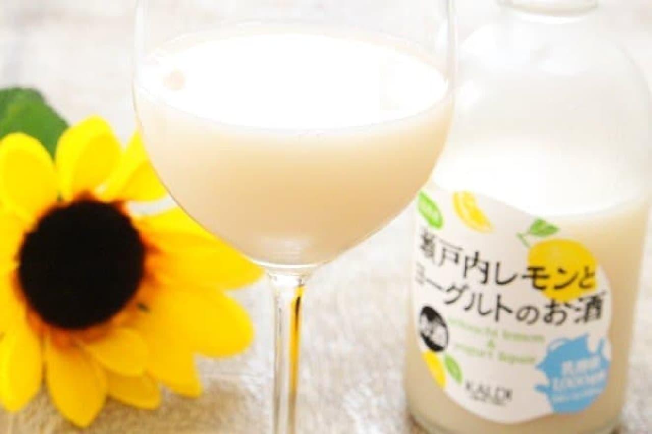 カルディコーヒーファーム「瀬戸内レモンとヨーグルトのお酒」