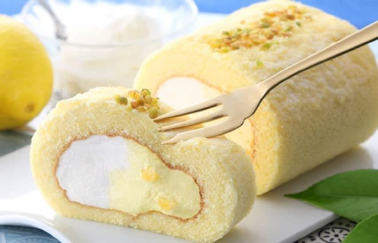 東京ミルクチーズ工場「レモンチーズロール」