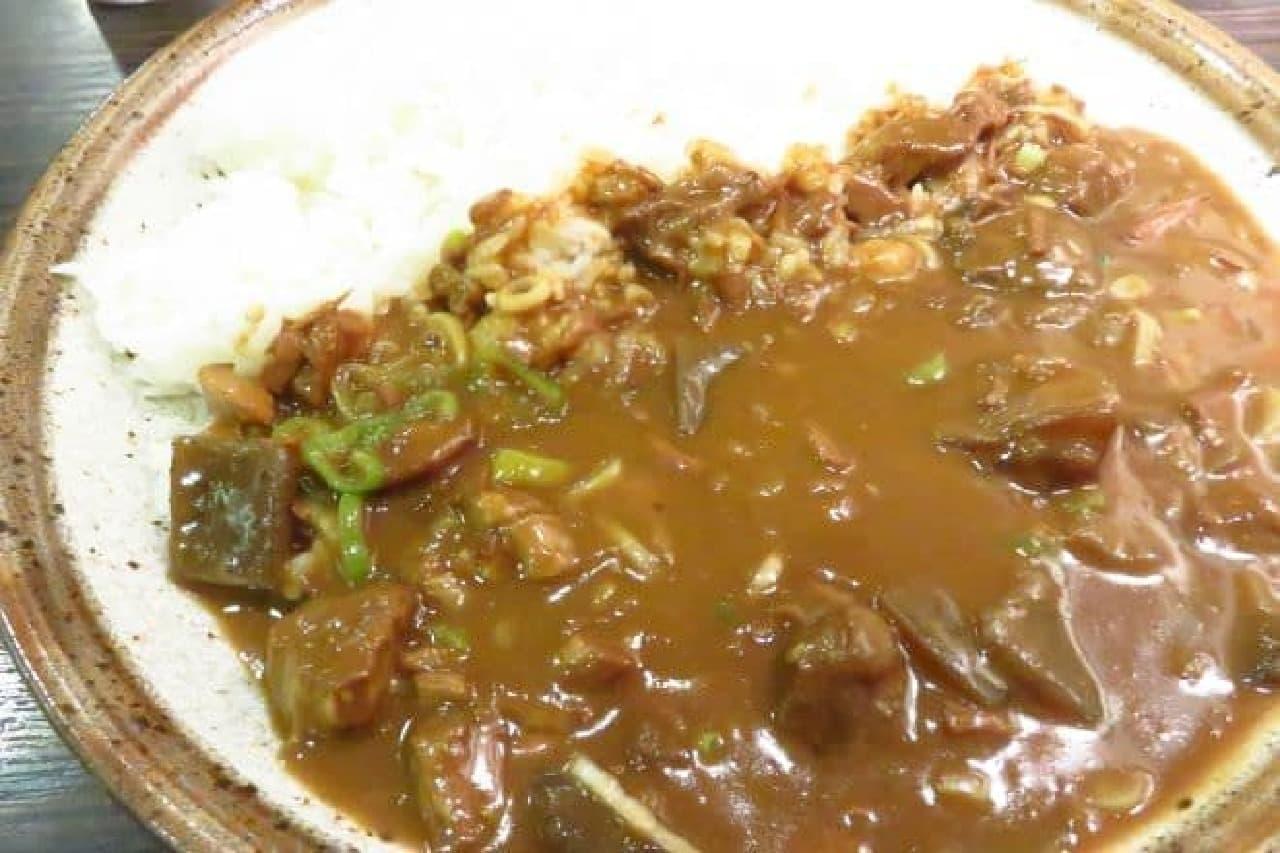 カレーハウスCoCo壱番屋店舗限定メニュー「牛すじ煮込みカレー」