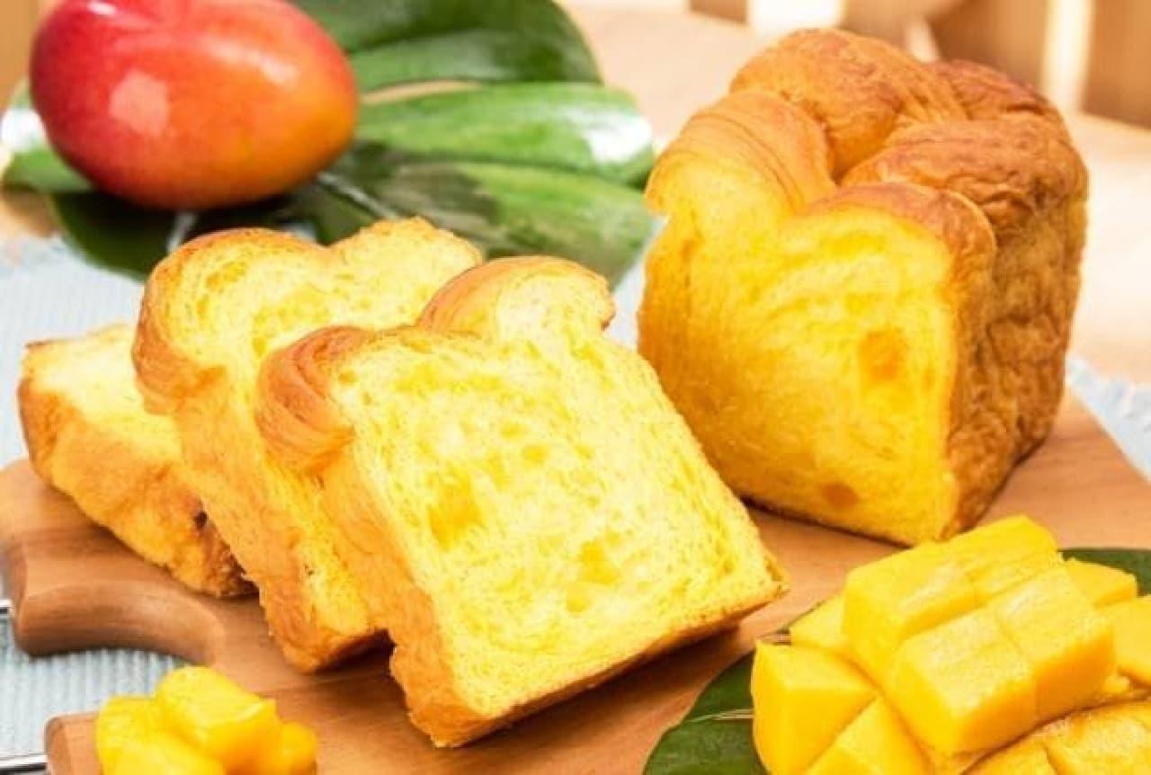 カフェ&ベーカリー ミヤビ「マンゴーデニッシュ食パン」