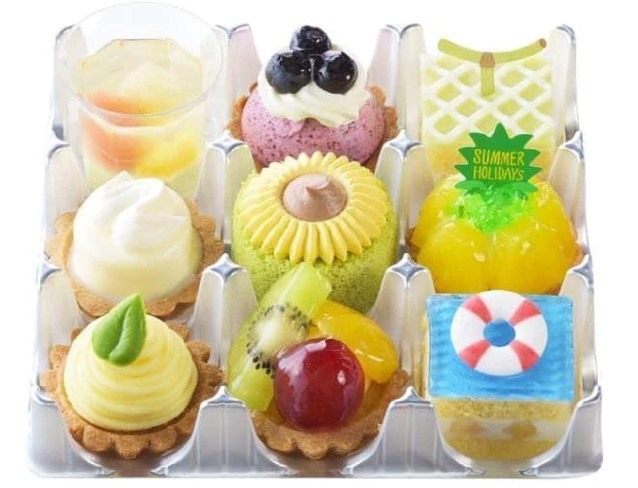 銀座コージーコーナー「サマーホリデー(9個入)」