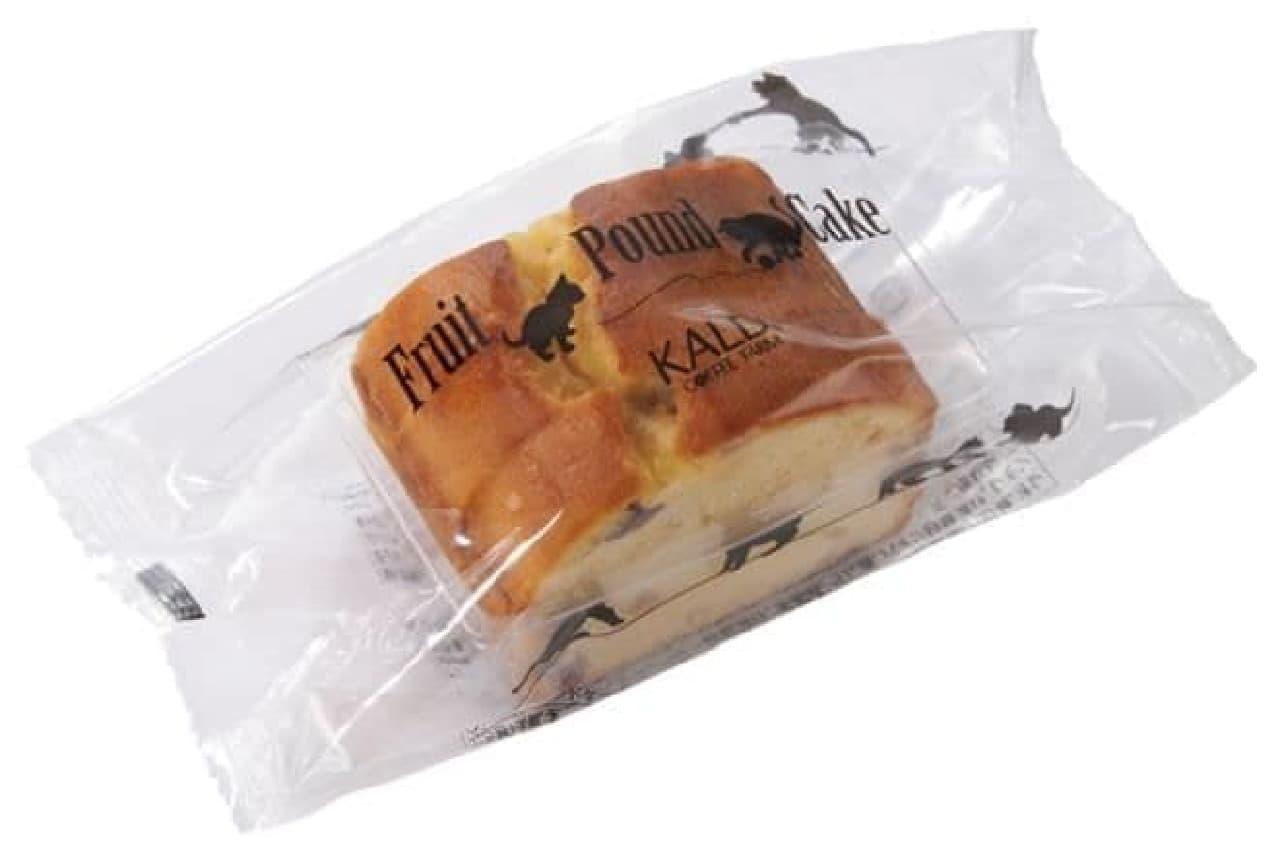 カルディ「オリジナル フルーツパウンドケーキ」