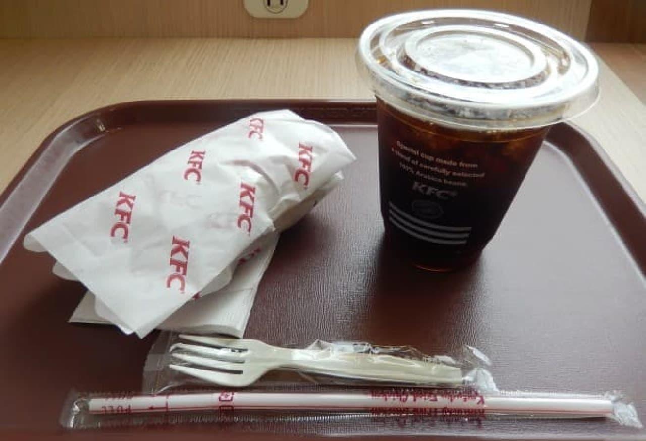 ケンタッキー・フライド・チキン(KFC)の一部店舗限定モーニング