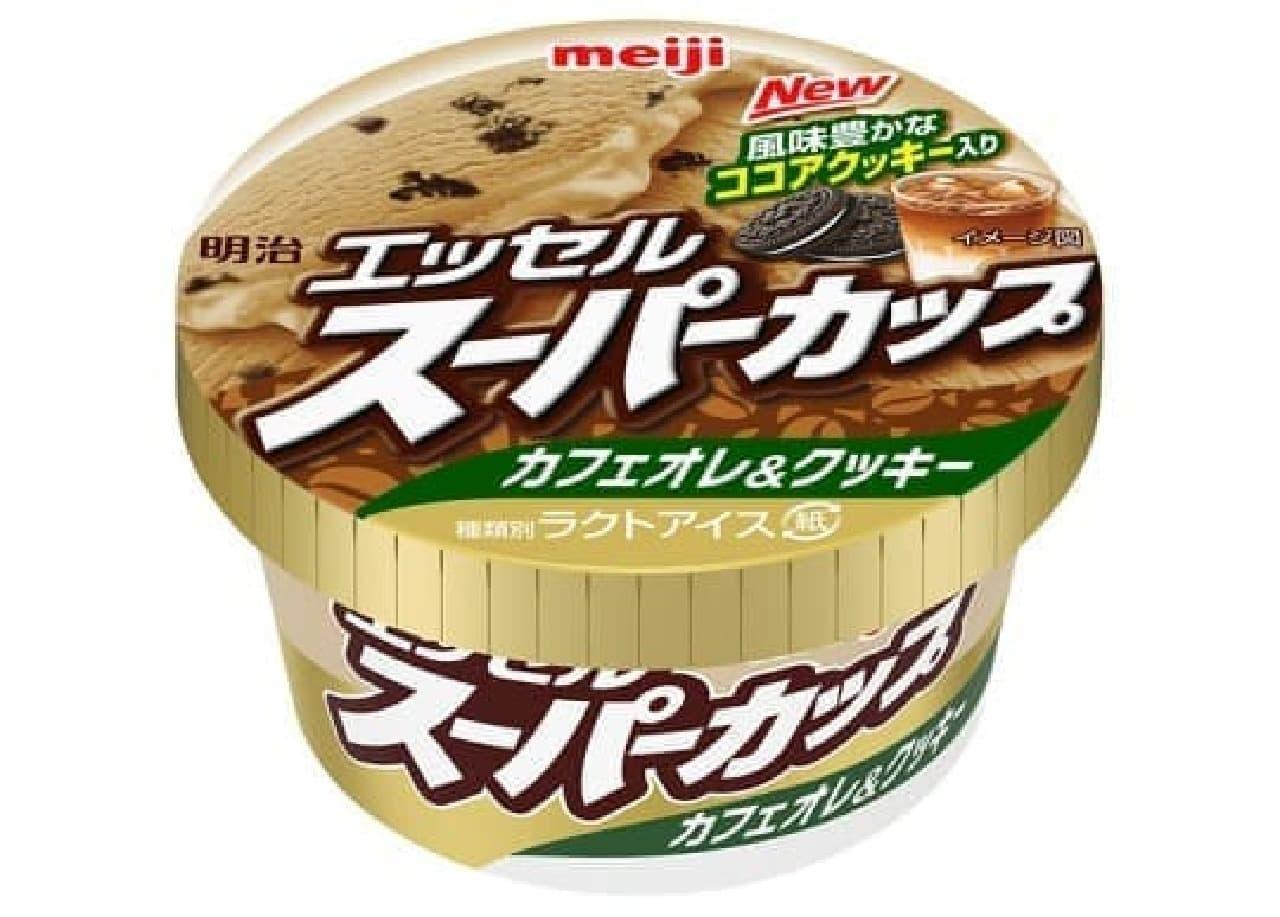 明治 エッセルスーパーカップ カフェオレ&クッキー