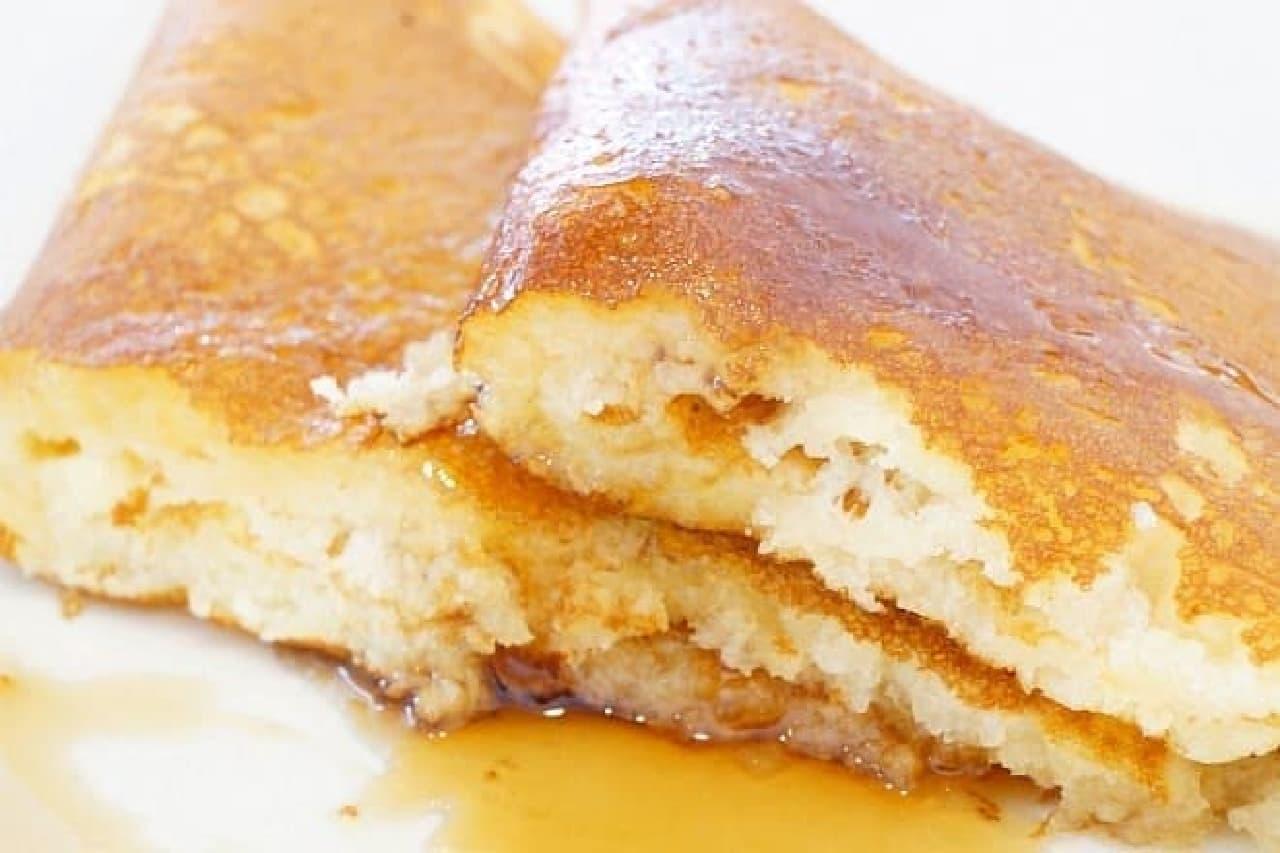花きゃべつのパンケーキモーニングAセット