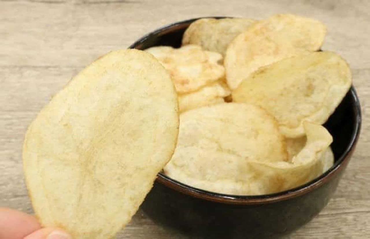 ローソン限定「ポテトチップス うなぎの蒲焼味」