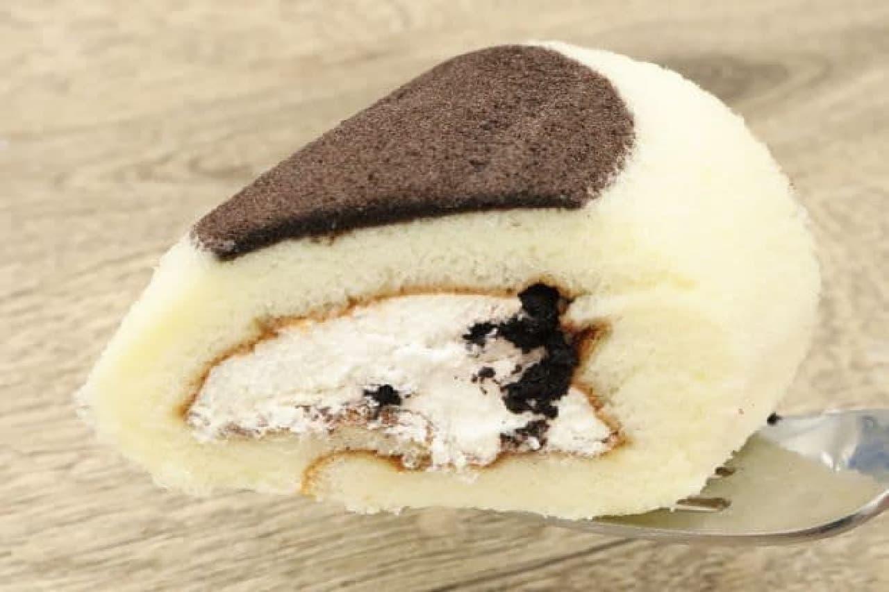 ミニもち食感ロール(クッキー入りクリーム)