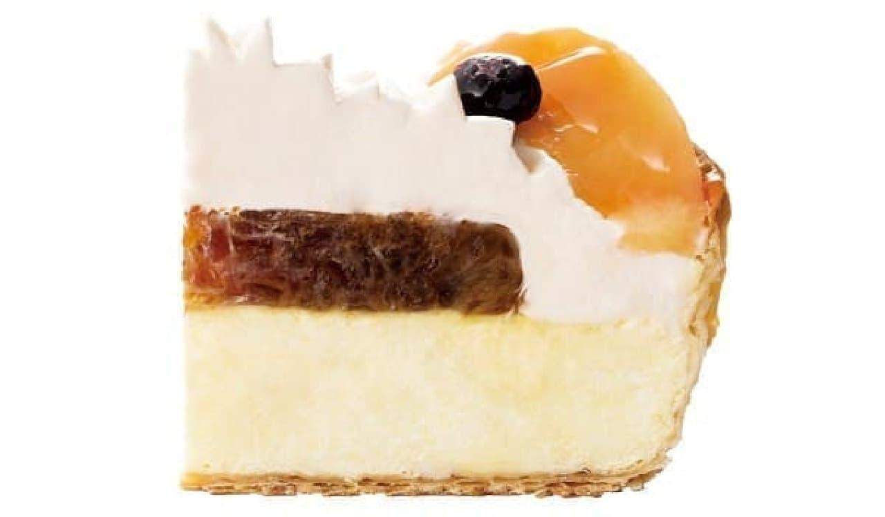 パブロのチーズタルト-白桃とアールグレイのサマーティータイム-