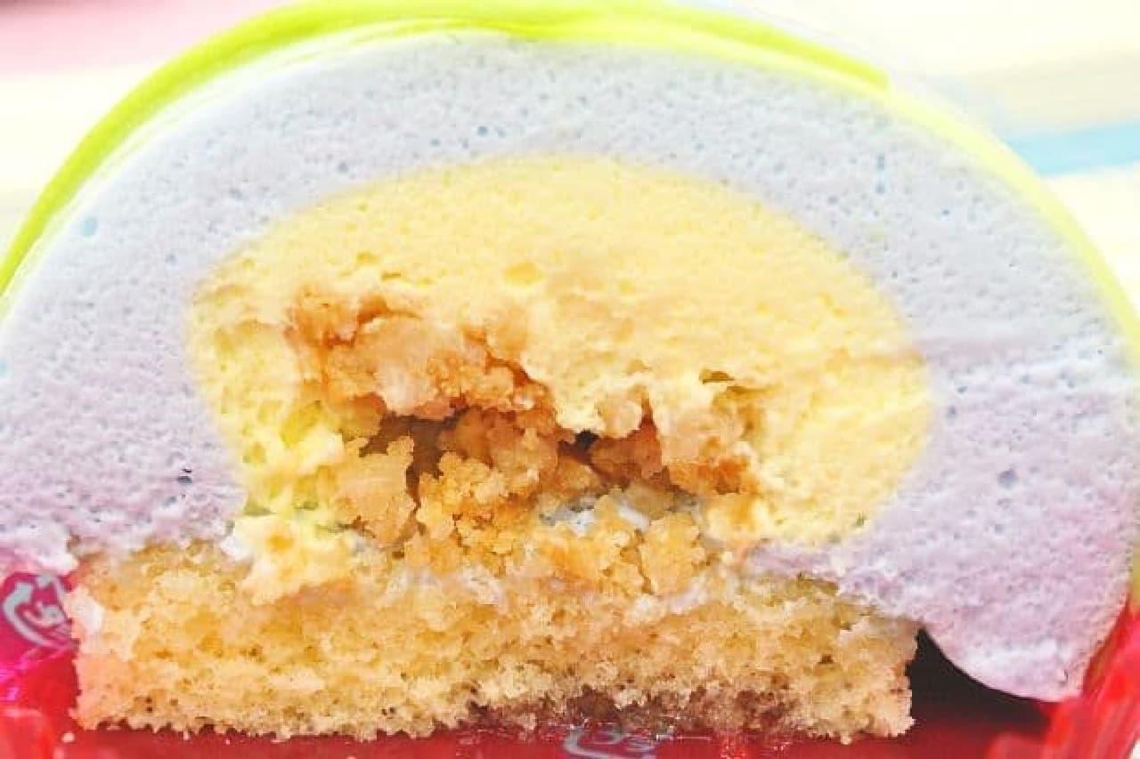 セブンイ-レブン「金魚鉢みたいなケーキ しゅわっとラムネソーダ味」