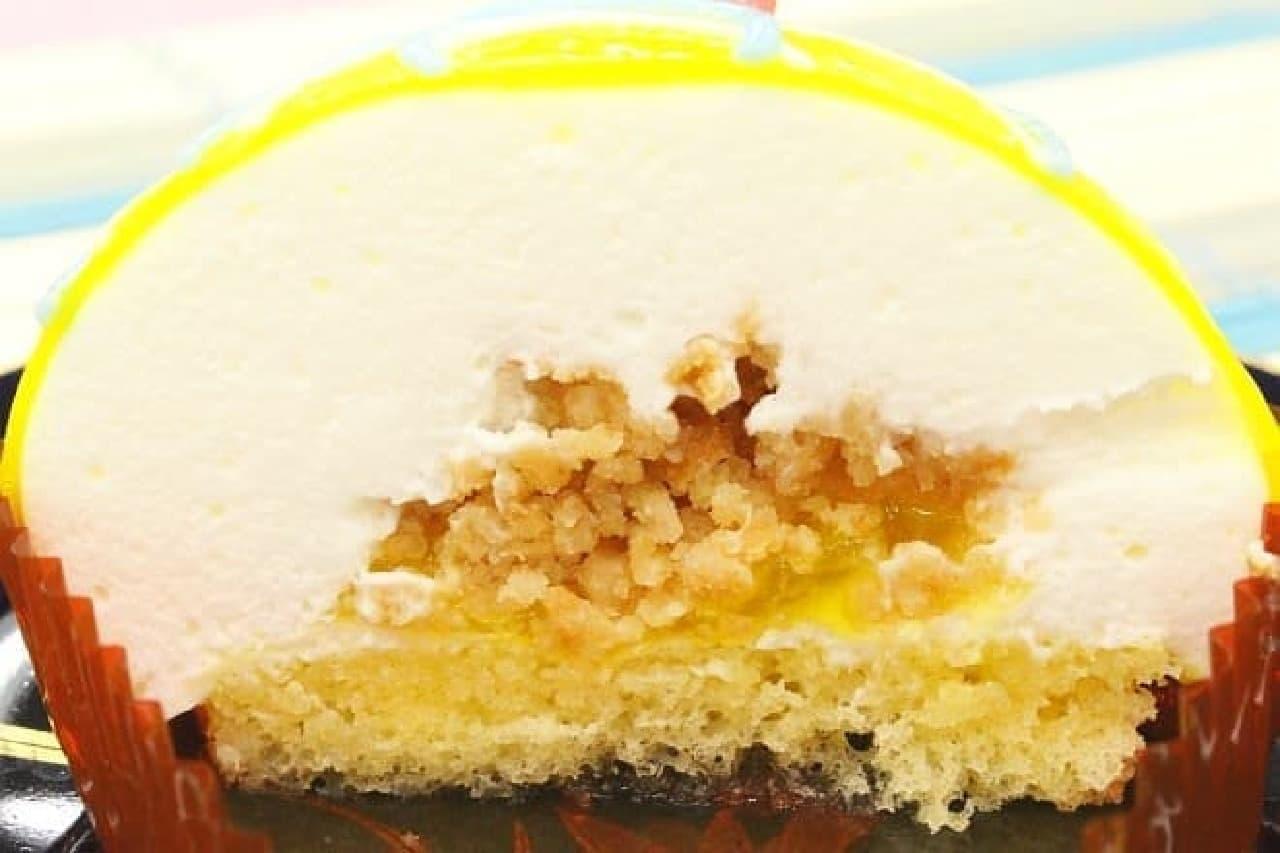 セブンイ-レブン「ヨーヨーみたいなケーキ ゆずレアチーズ」