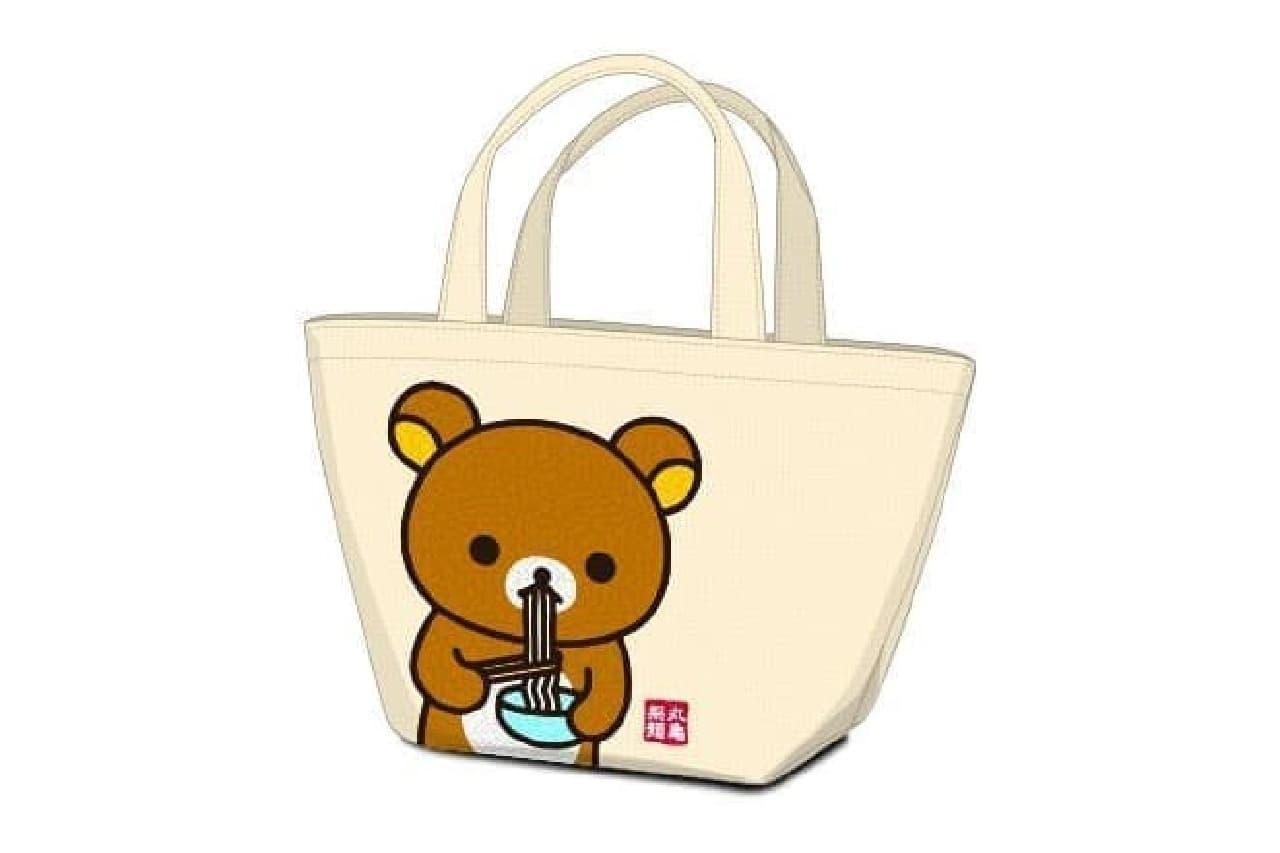 丸亀製麺の「リラックマ」トートバッグ
