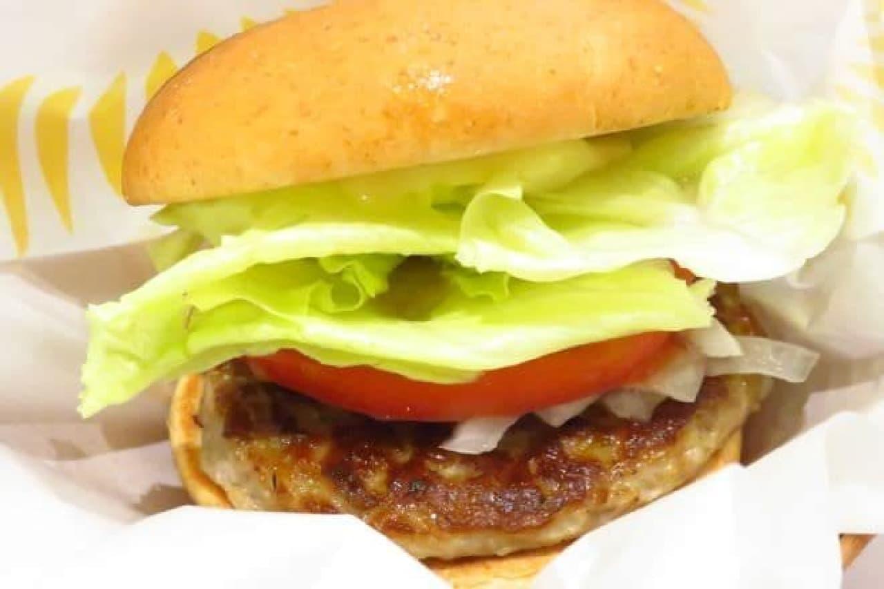 モスバーガーの朝モス「モーニング野菜バーガー」