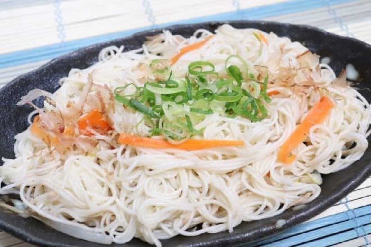 沖縄の家庭料理「そうめんチャンプルー」