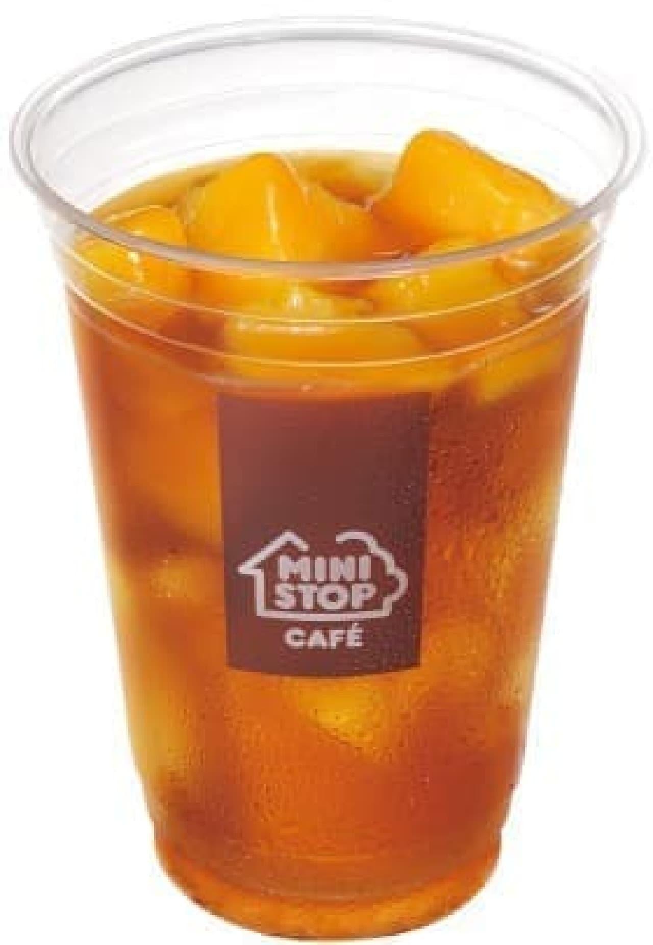 ミニストップ「ゴロッと果実のマンゴーティー」