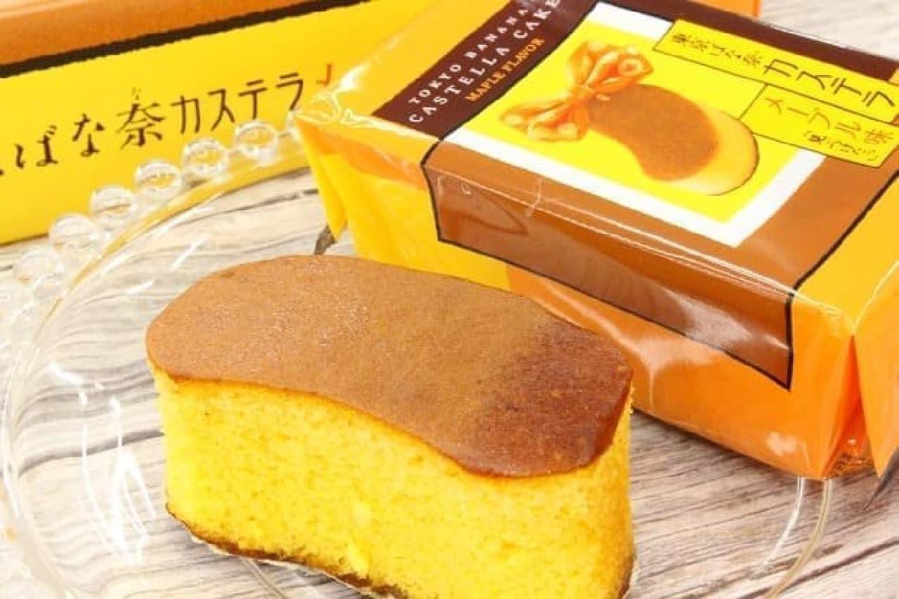 羽田空港限定の「東京ばな奈カステラ メープル味『見ぃつけたっ』」