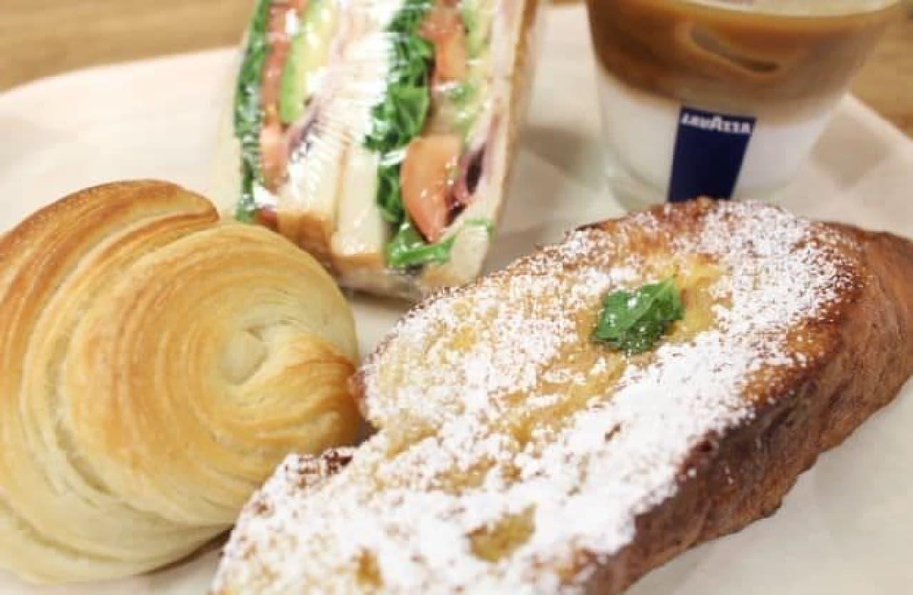 ヒルサイドパントリー代官山のパン