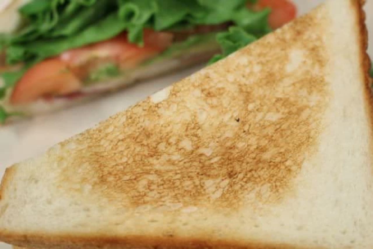 ヒルサイドパントリー代官山「ベーコンとレタスとトマトとアボカドのサンドイッチ」