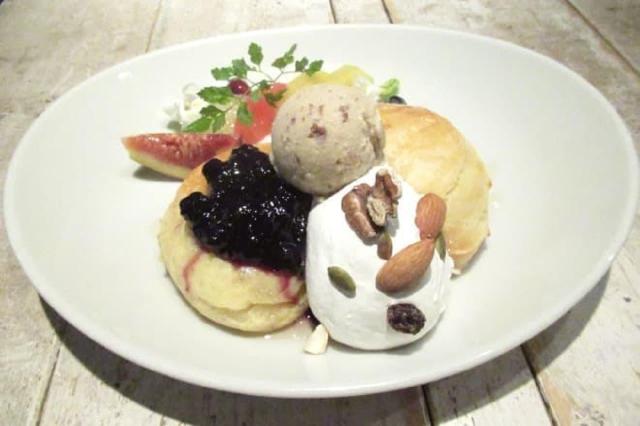 アインソフジャーニーのパンケーキ