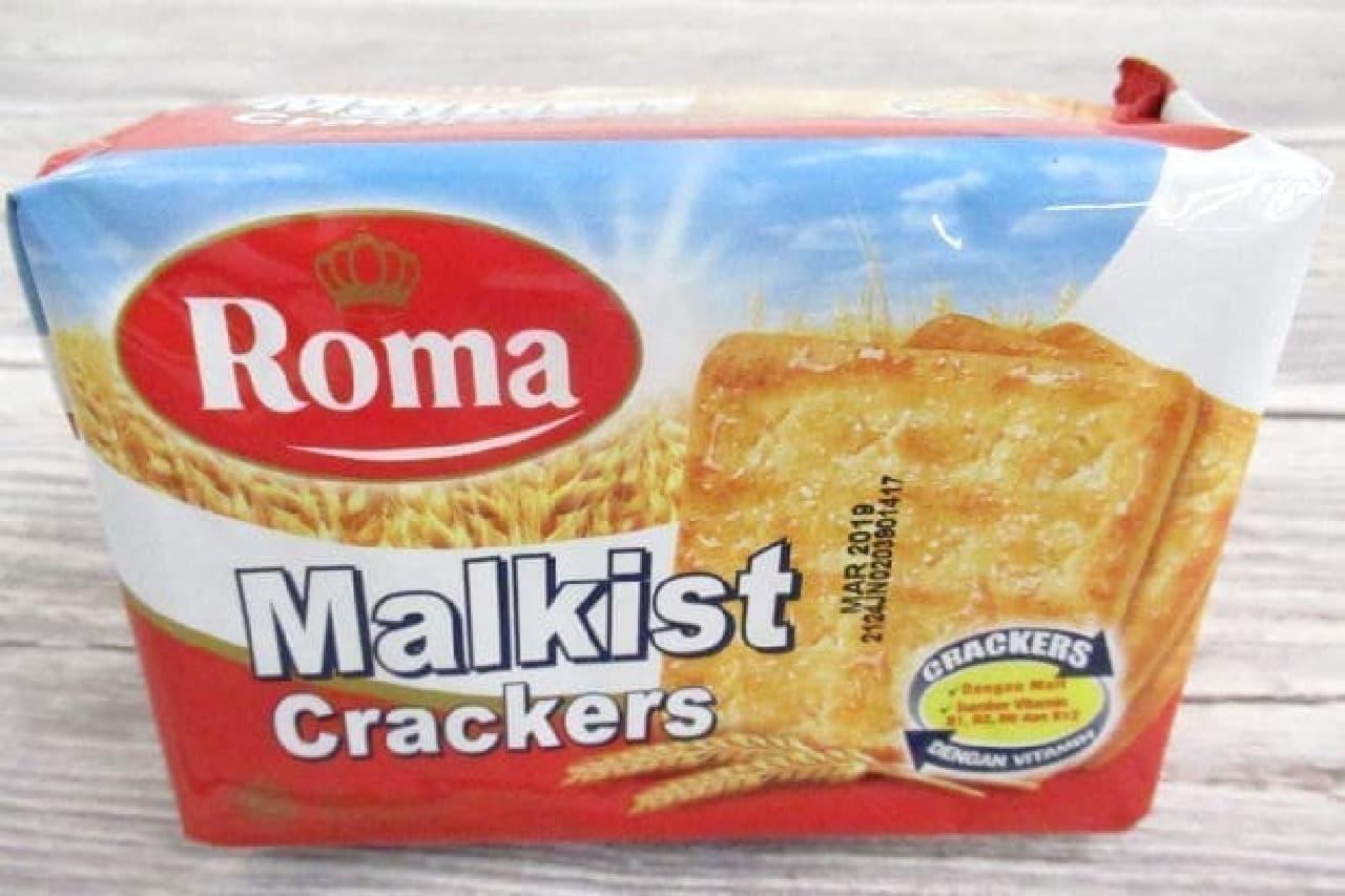 インドネシアのクラッカー「Roma Malkist Crackers」