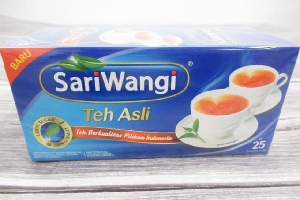 インドネシアの紅茶「SariWangi Teh Asli」