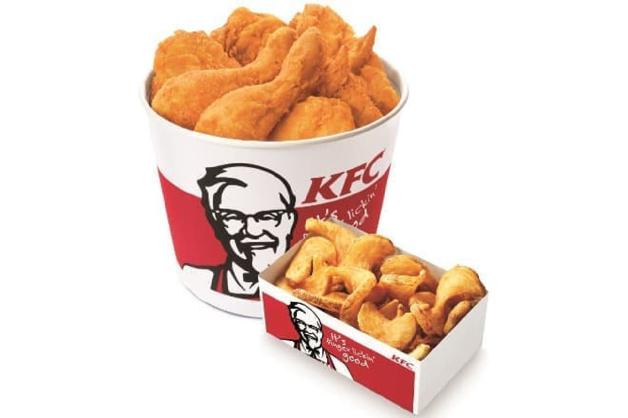 KFCの「お盆バーレル」