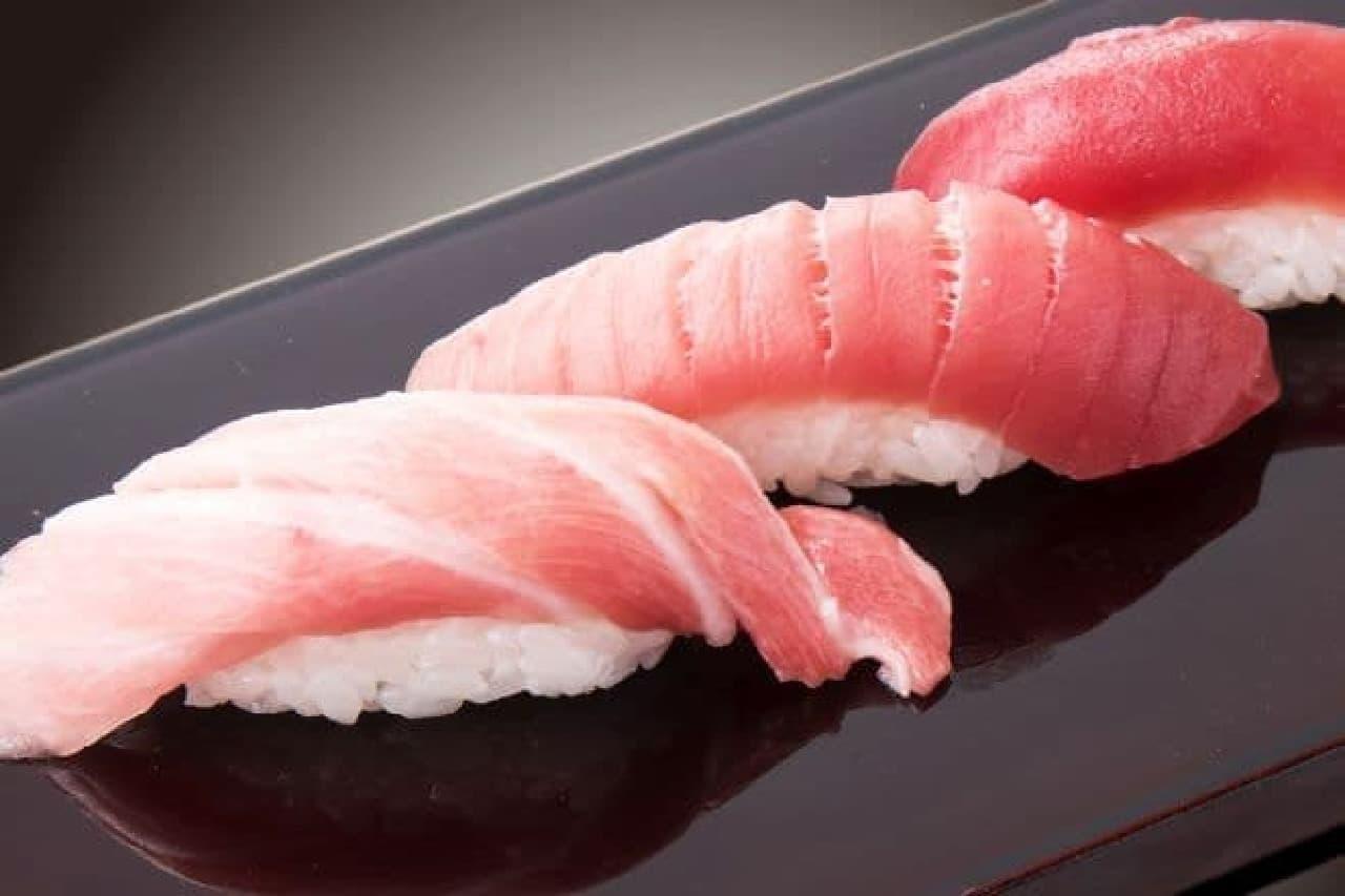 「築地日本海」の行徳駅前店で「高級ネタも無制限!プレミアム寿司食べ放題」