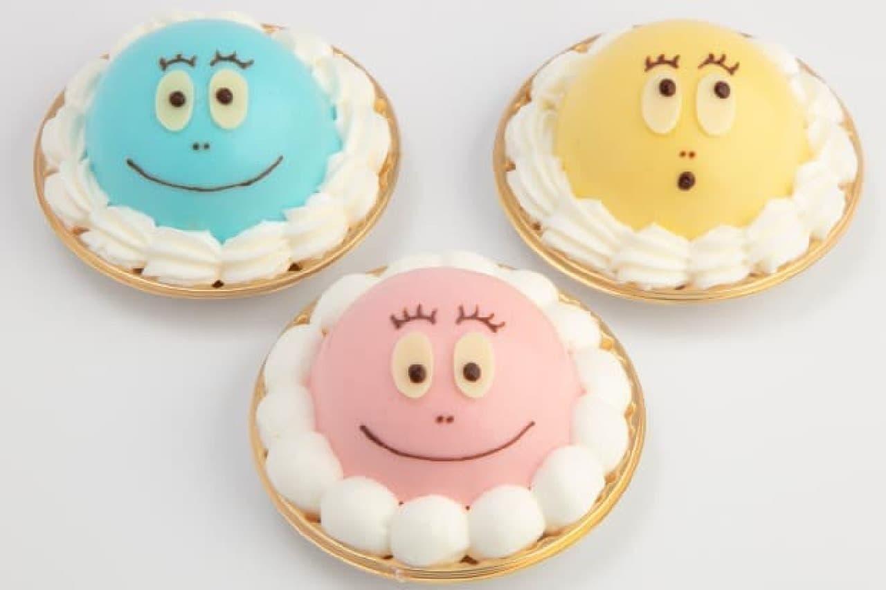 バーバパパのケーキセット