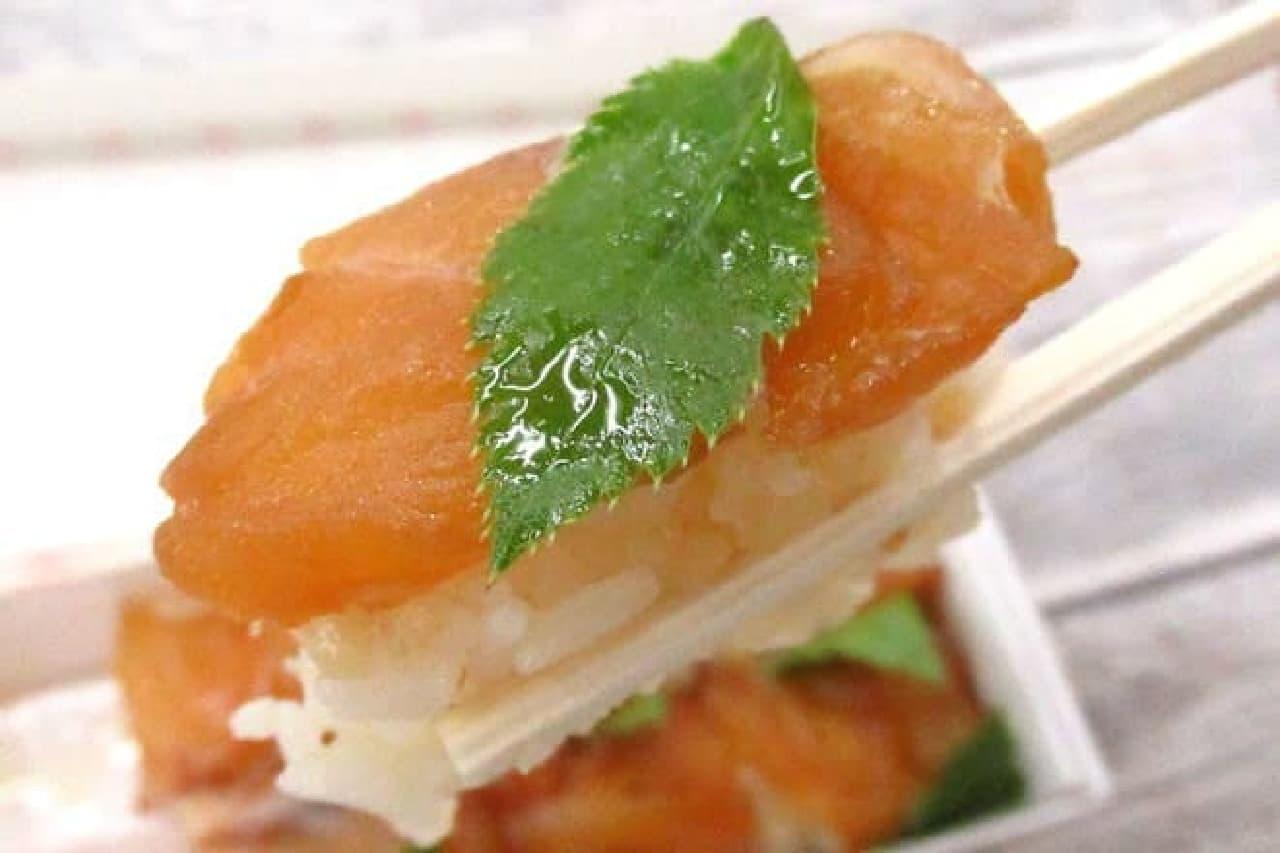 島島弁当の「べっこう寿司/鼈甲鮨」