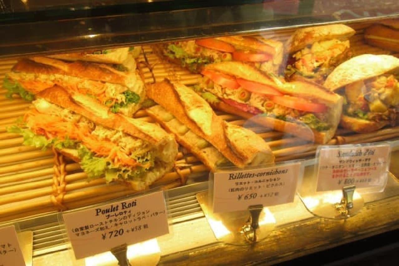 ヴィロンのサンドイッチ