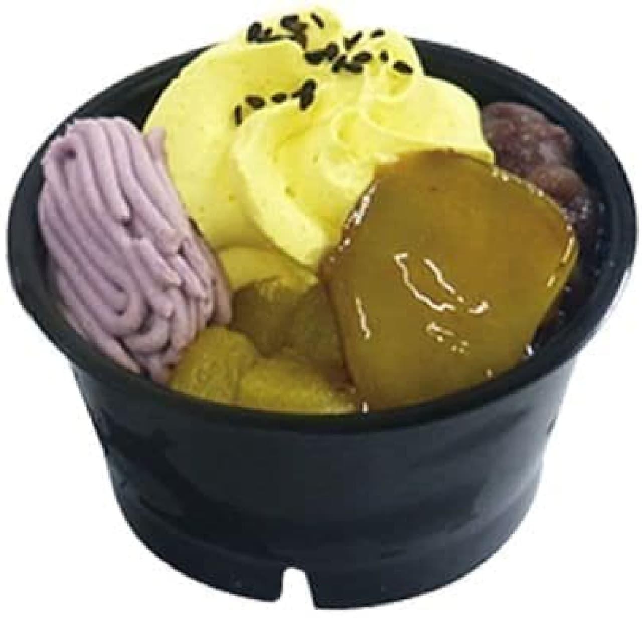 ファミリーマート「お芋がのった和ぱふぇ」