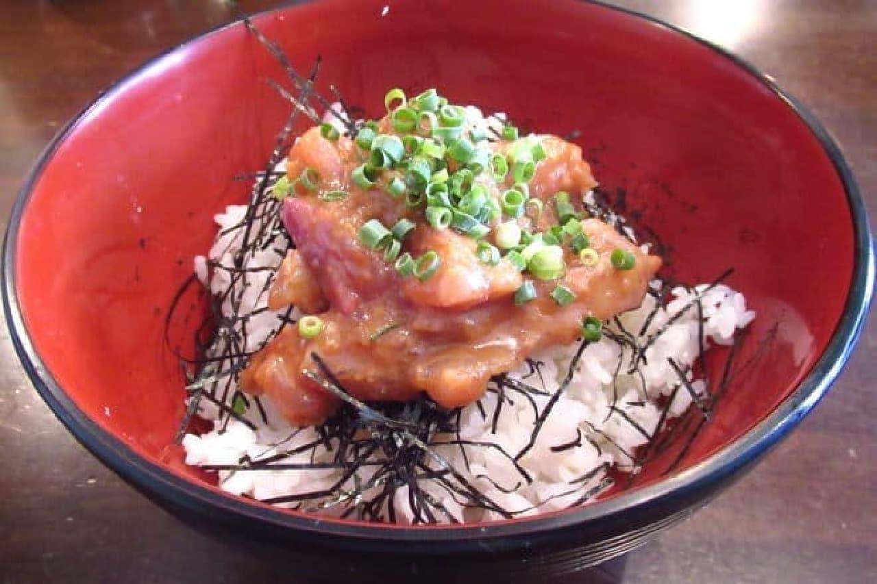 青ヶ島屋の「ゴマダレ海鮮丼」