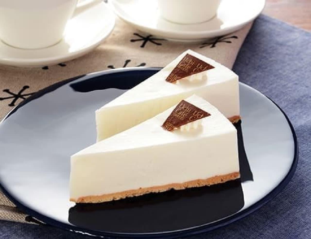 ローソン「レアチーズケーキ 2個入」