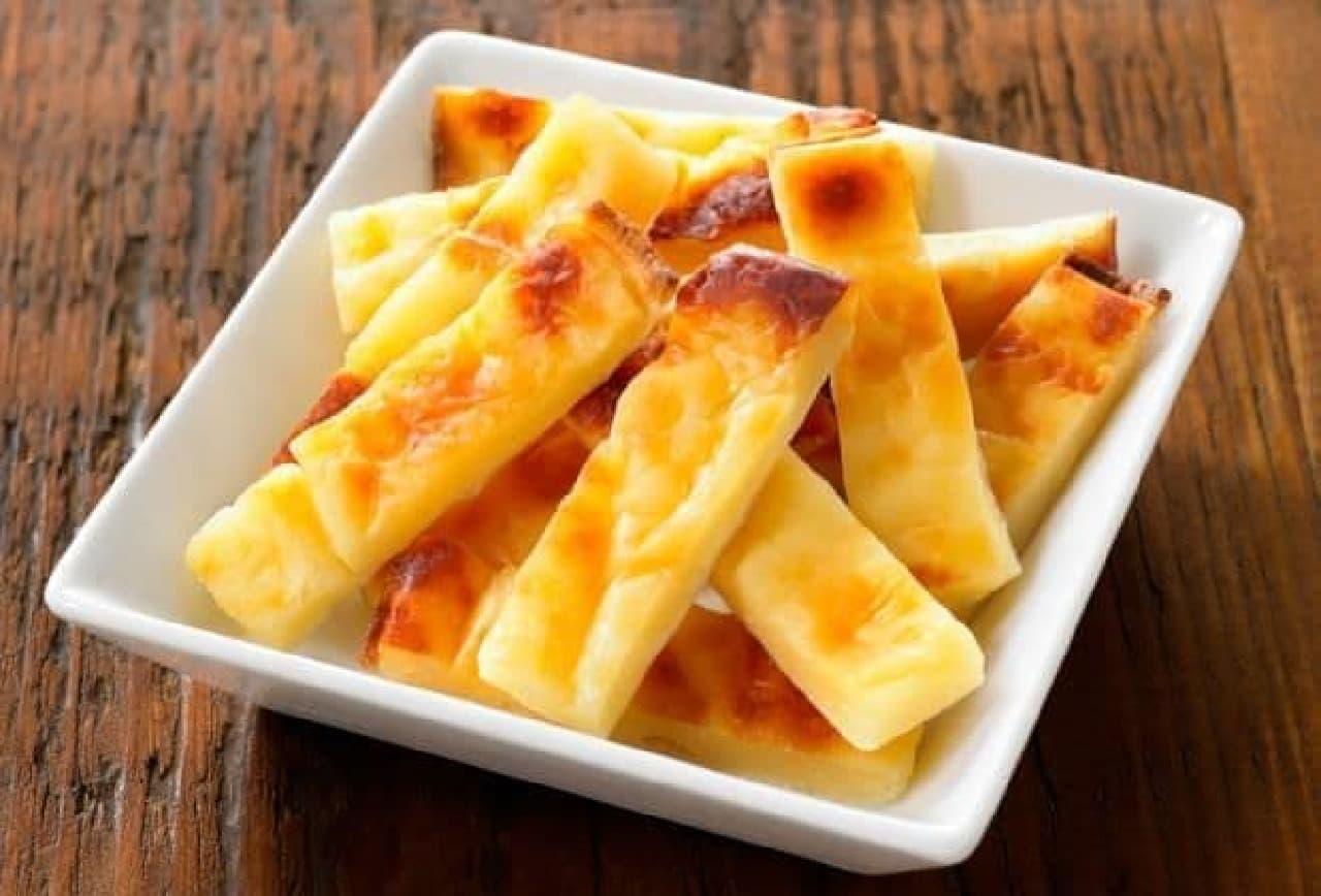 無印良品「不揃いひとくち焼きチーズ」