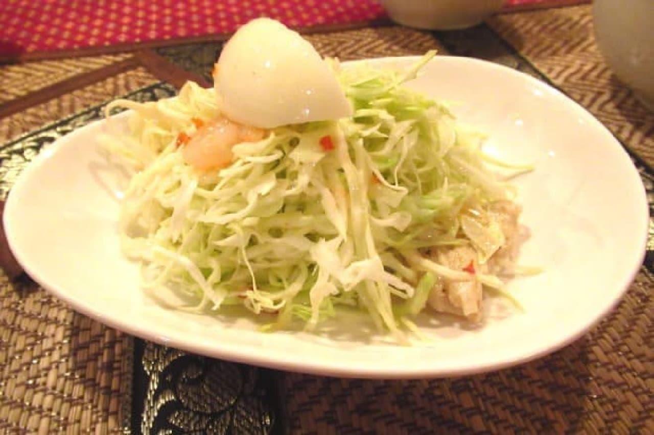 バイヨンのサラダ