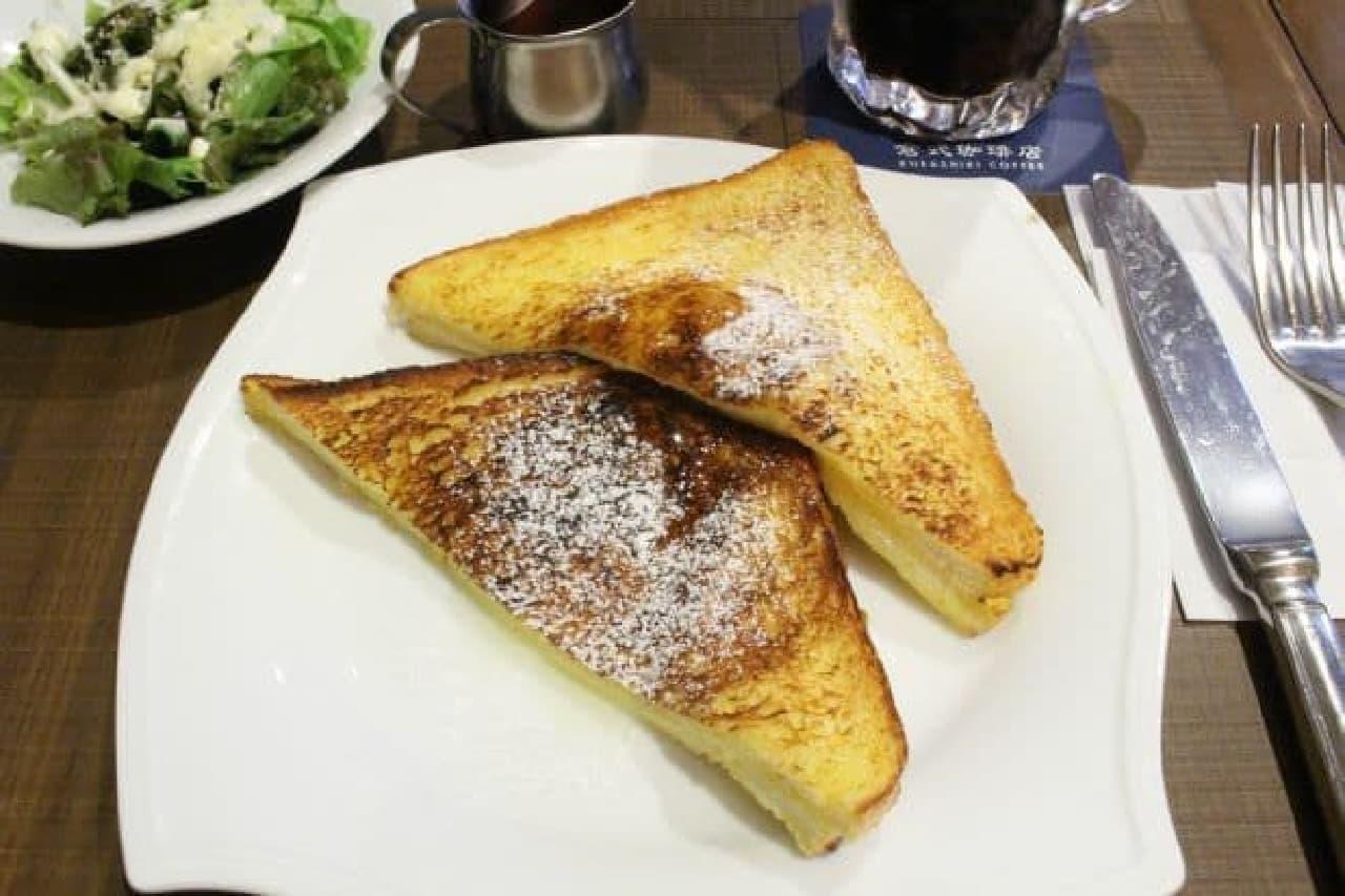 倉式珈琲店「メープルダッチフレンチトースト」