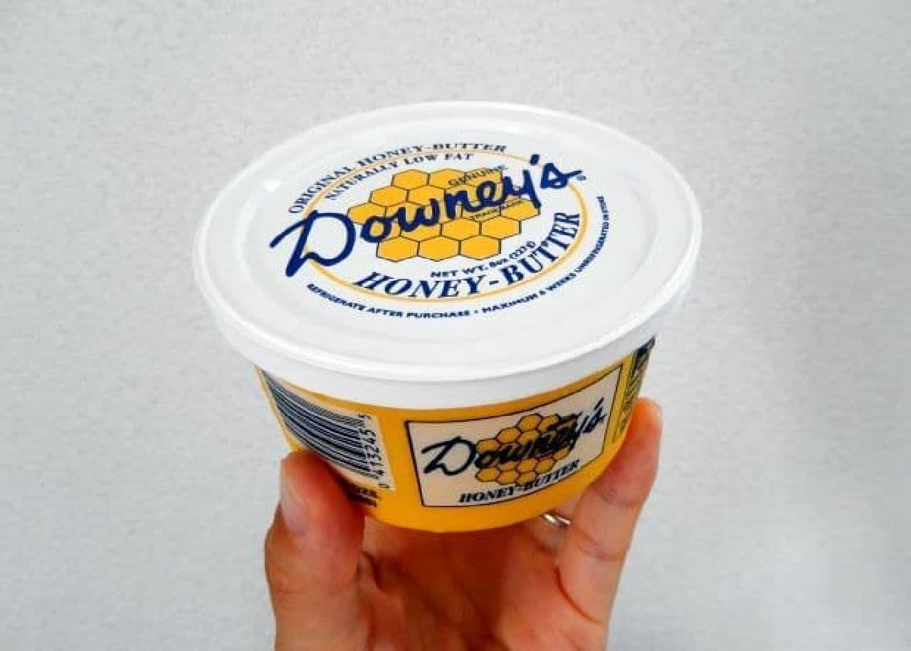 ダウニーズの「ハニーバター」